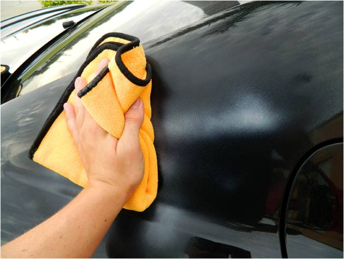 Auto Detailing Drying