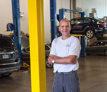 Chris Coulter is the owner of Coho Auto, a mechanic near Manassas, VA.