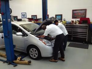 Hybrid vehicle repair in Manassas, VA.