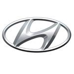 Logo for Hyundai. We provide service on Hyundai vehicles