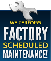 We perform factory schedueled maintenance!