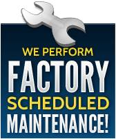 We perform factory scheduled maintenance!